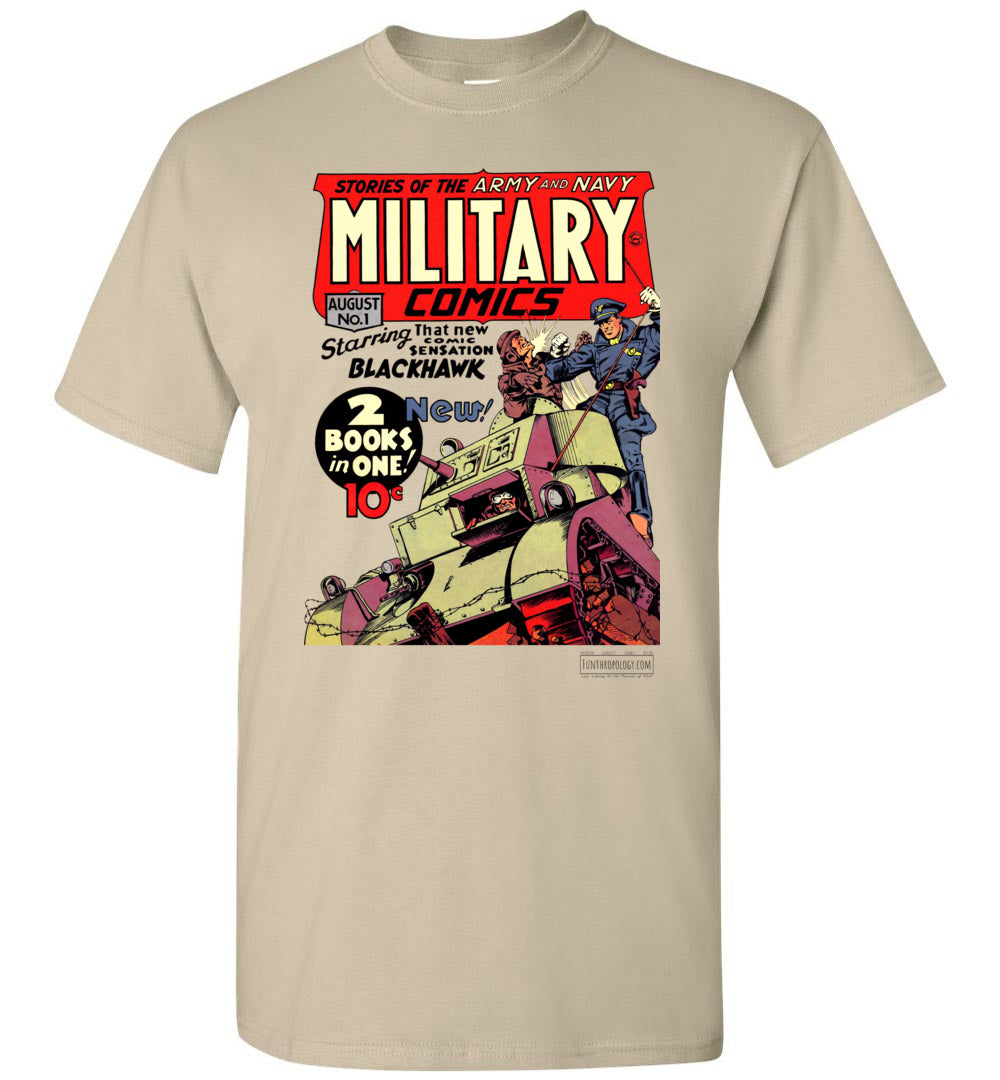 Military Comics No.1 T-Shirt (Unisex, Light Colors)