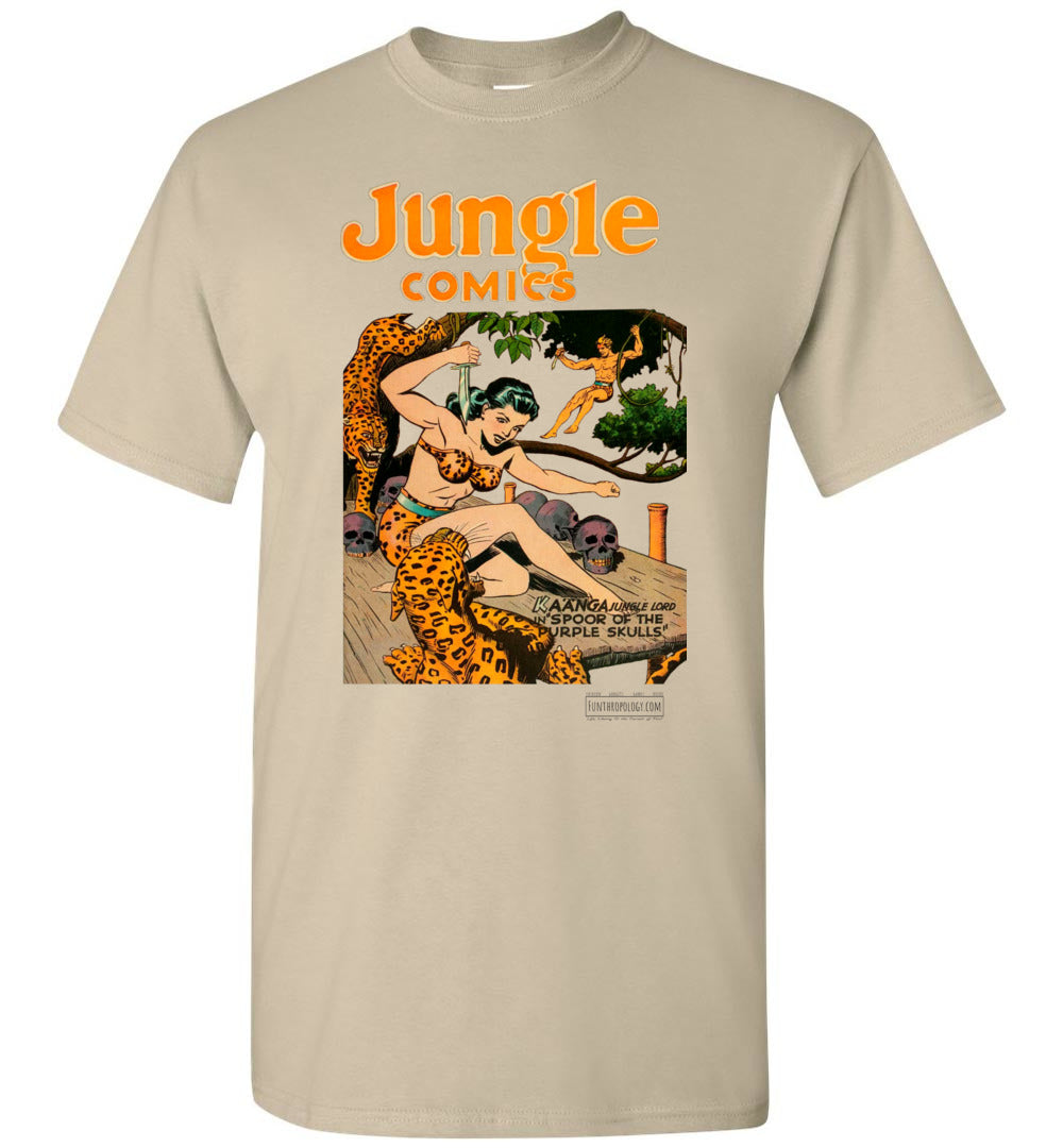 Jungle Comics No.66 T-Shirt (Unisex, Light Colors)