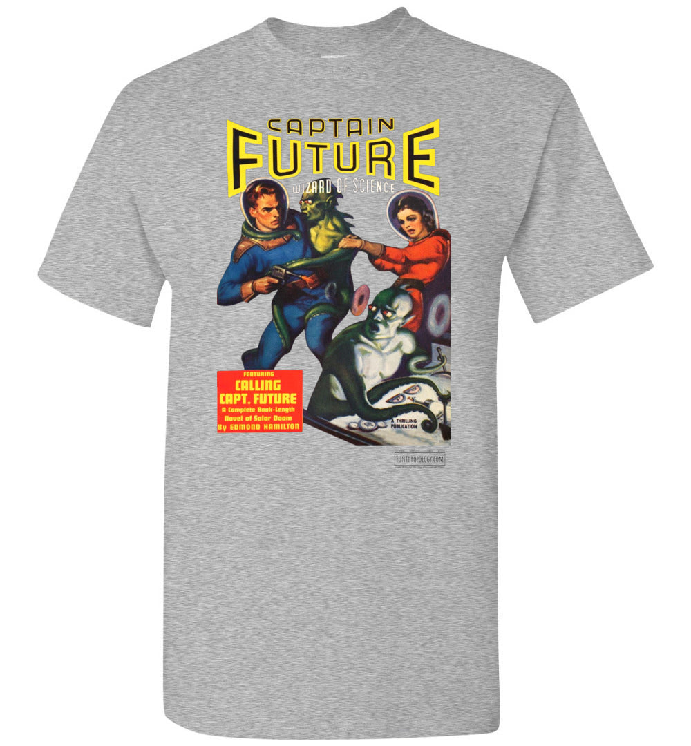 Captain Future No.2 T-Shirt (Unisex, Light Colors)
