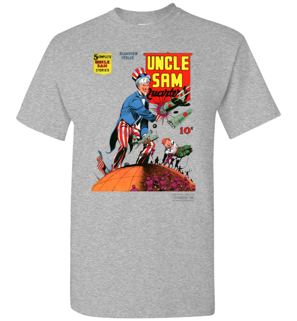 Uncle Sam Quarterly No.3 T-Shirt (Youth, Light Colors)
