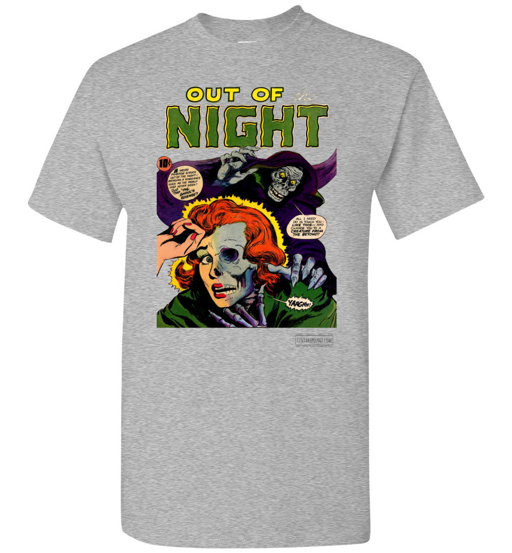 Out Of The Night No.6 T-Shirt (Unisex, Light Colors)