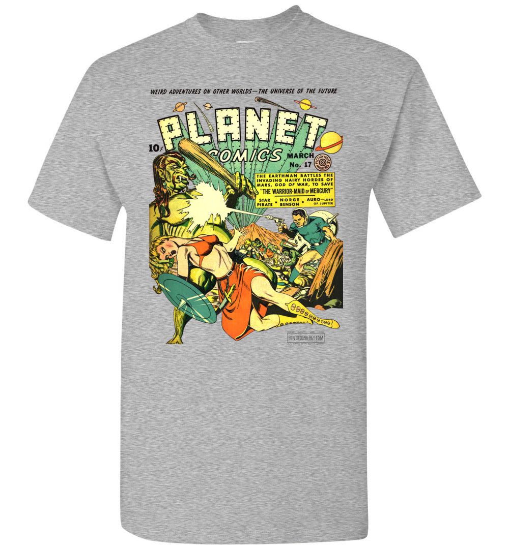 Planet Comics No.17 T-Shirt (Unisex, Light Colors)