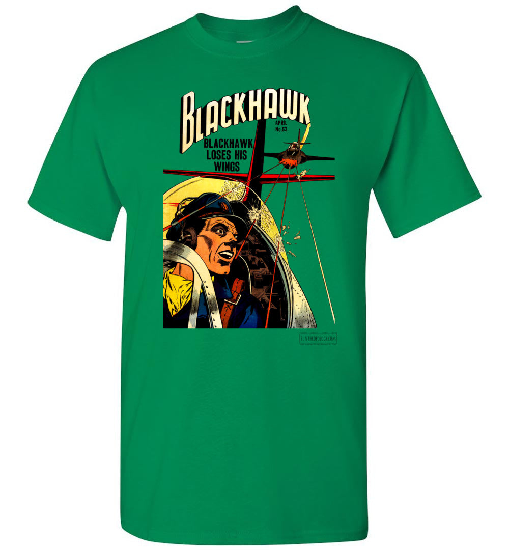 Blackhawk No.63 T-Shirt (Unisex, Light Colors)