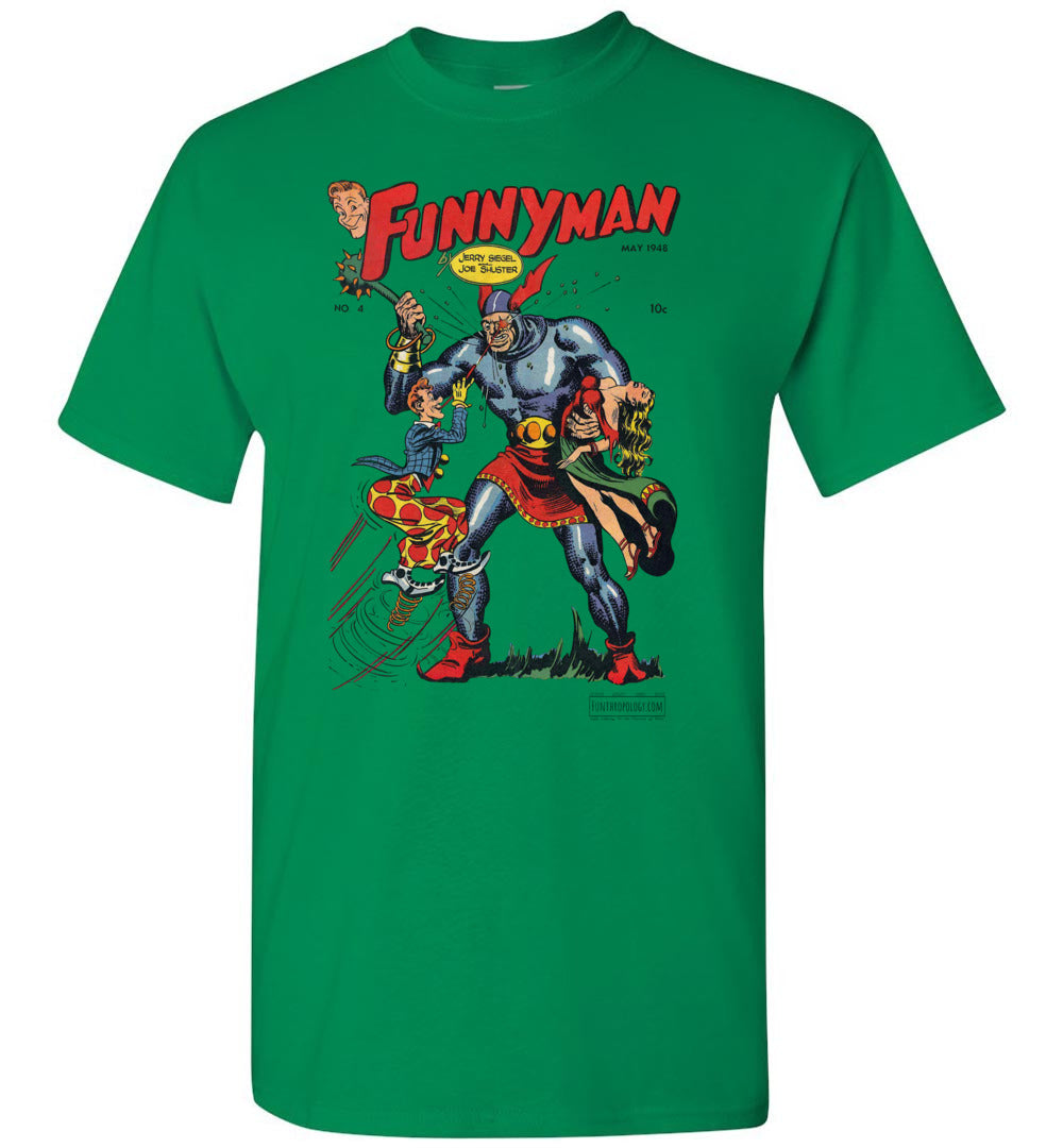 Funnyman No.4 T-Shirt (Unisex, Light Colors)