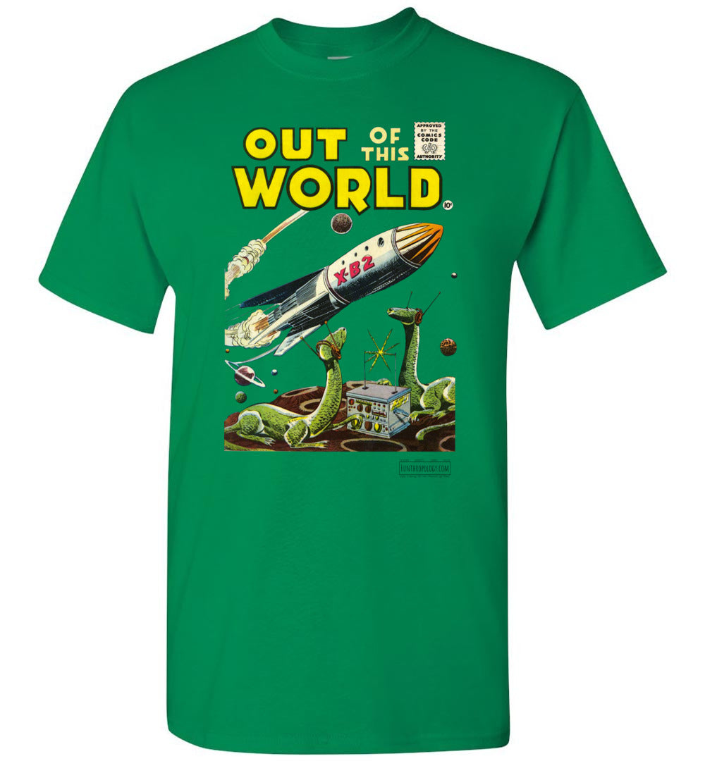 Out Of This World No.1 T-Shirt (Unisex, Light Colors)