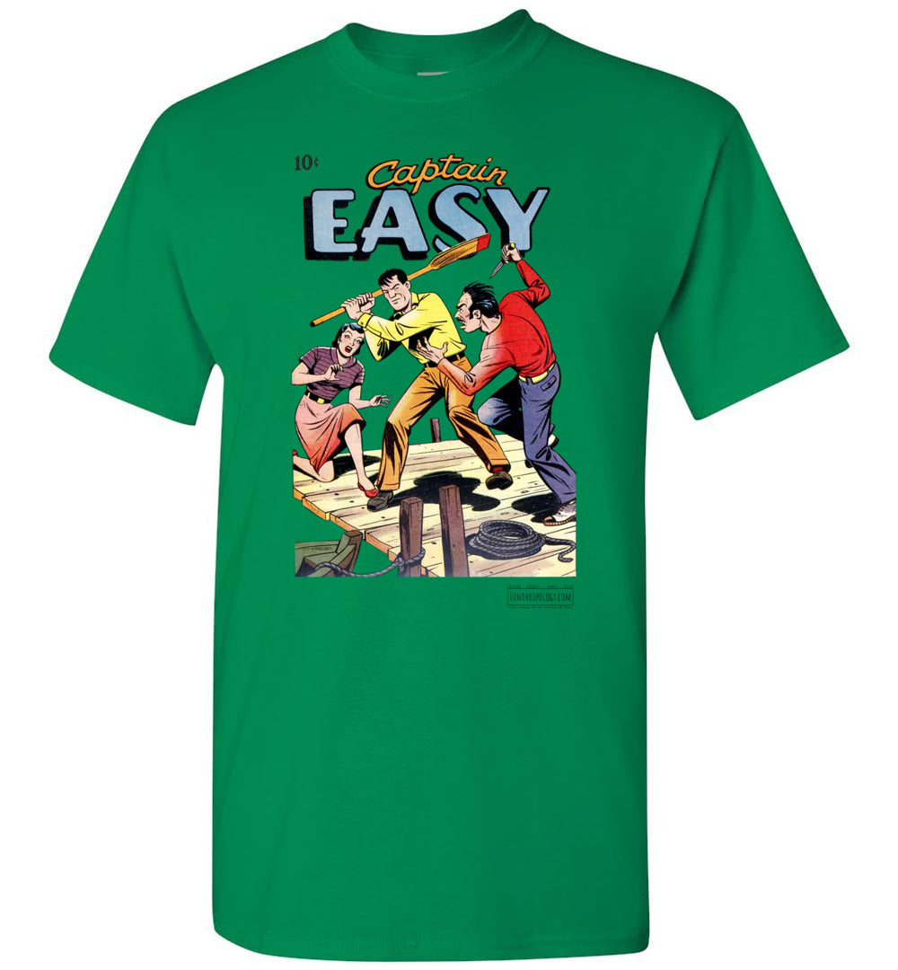 Captain Easy No.15 T-Shirt (Unisex, Light Colors)