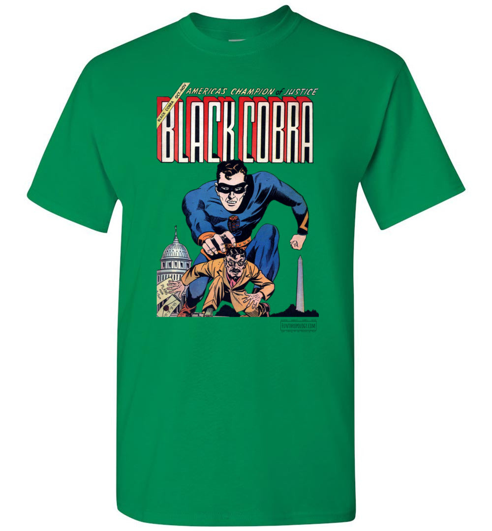 Black Cobra No.1 T-Shirt (Unisex, Light Colors)