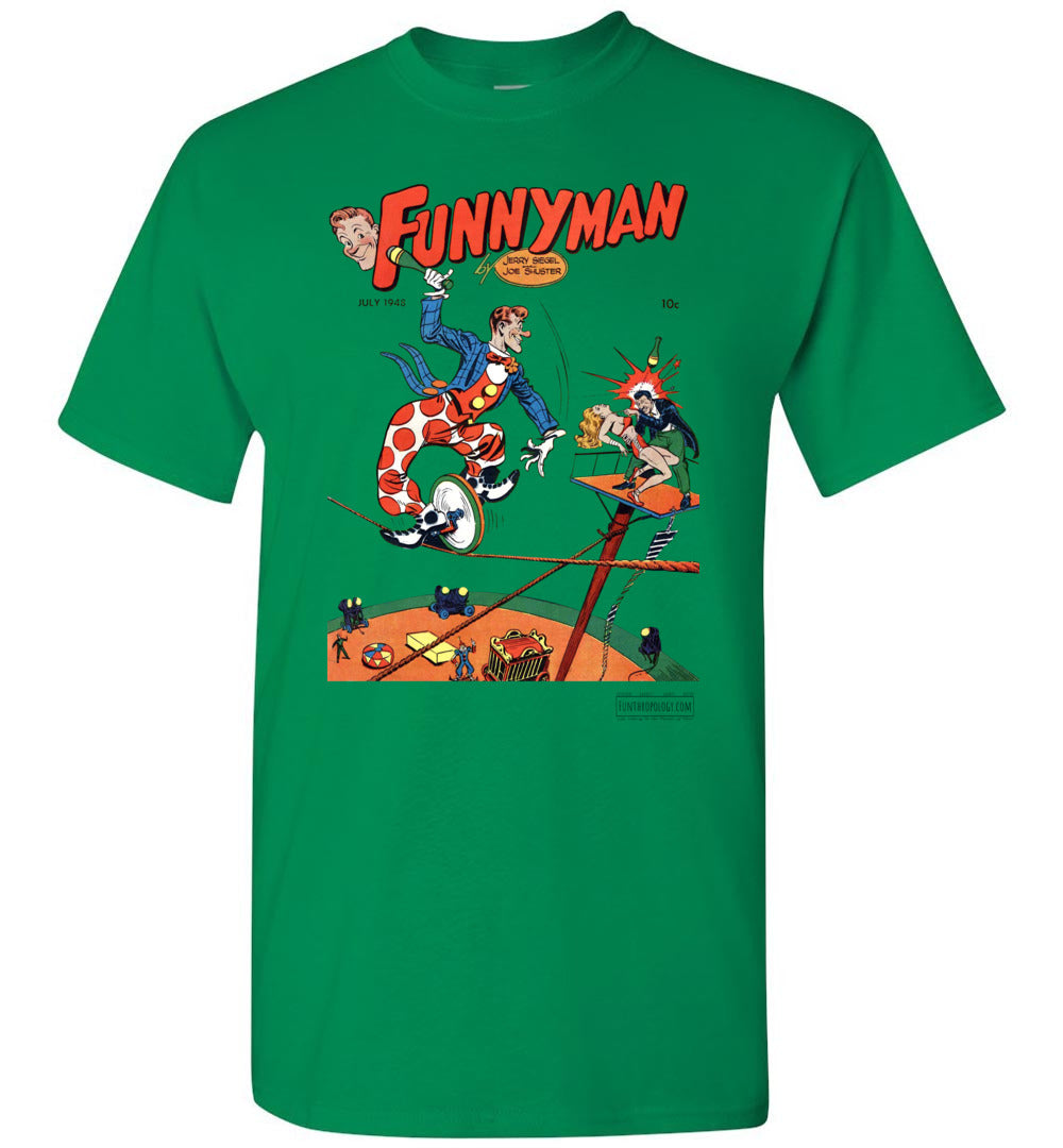 Funnyman No.5 T-Shirt (Unisex, Light Colors)