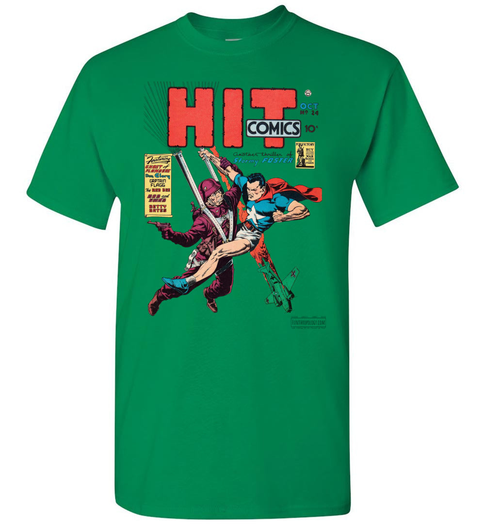 Hit Comics No.24 T-Shirt (Unisex, Light Colors)