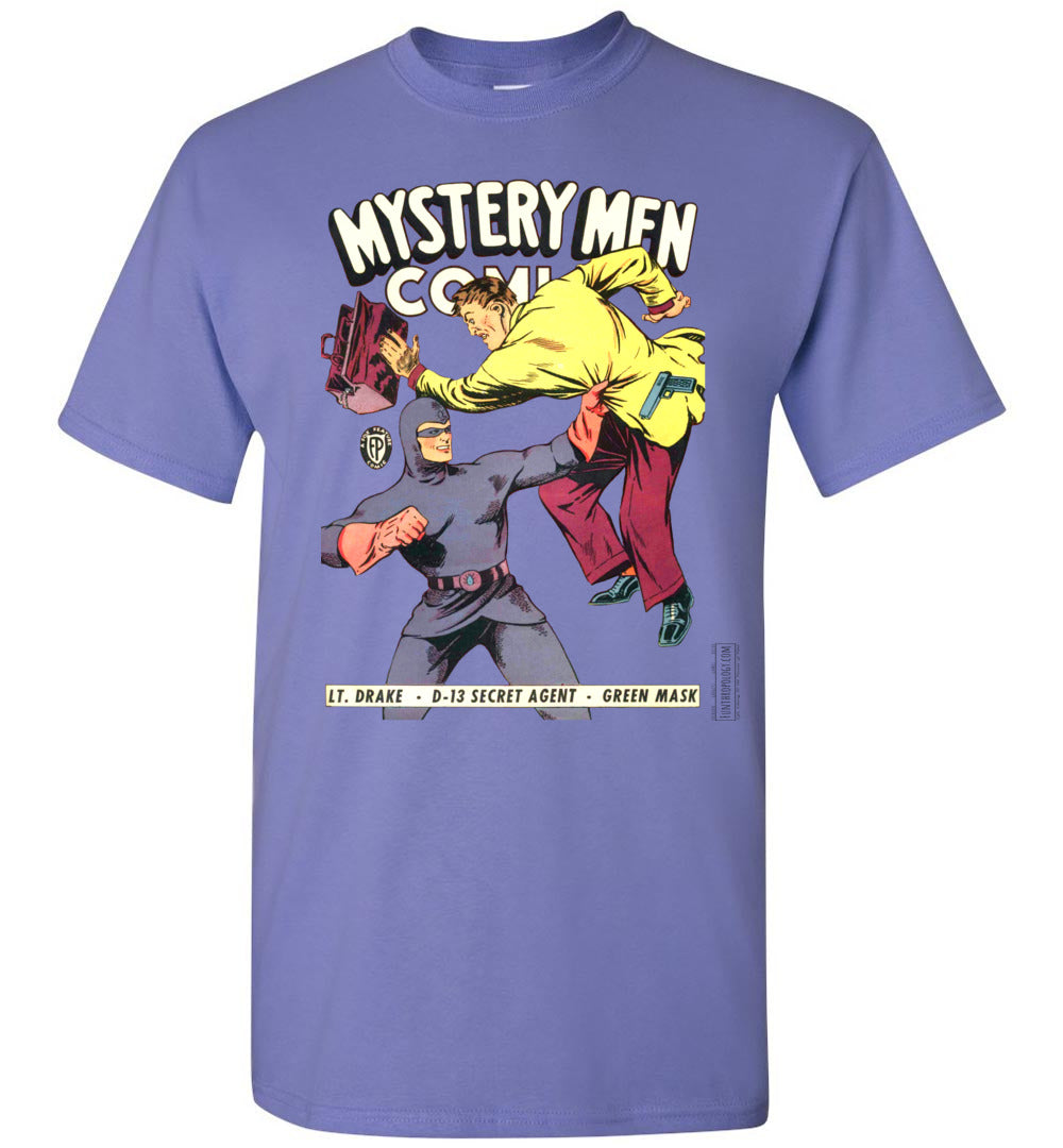 Mystery Men Comics No.18 T-Shirt (Youth, Light Colors)