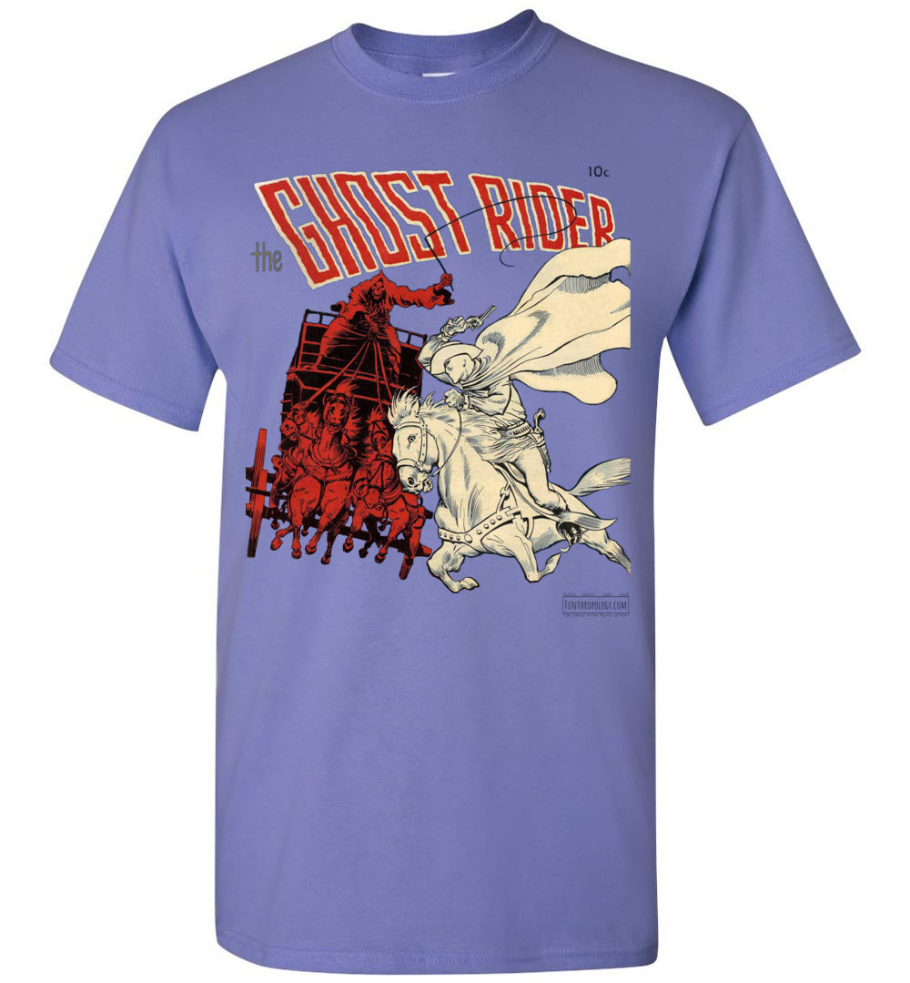 The Ghost Rider No.2 T-Shirt (Unisex, Light Colors)
