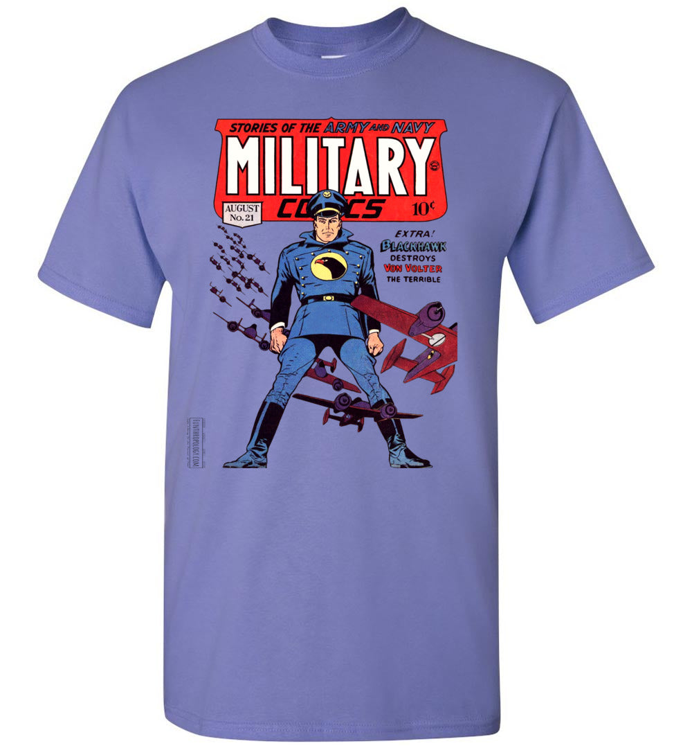Military Comics No.21 T-Shirt (Youth, Light Colors)