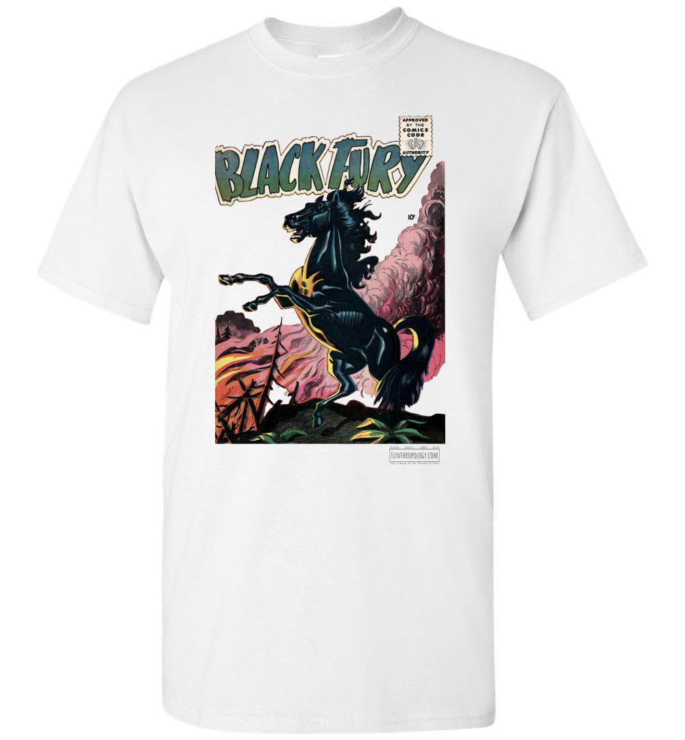 Black Fury No.1 T-Shirt (Unisex, Light Colors)