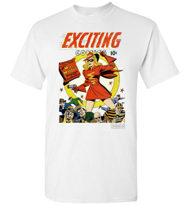 Exciting Comics No.53 T-Shirt (Unisex Plus, Light Colors)