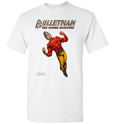Bulletman Reimagined T-Shirt (Unisex Plus, Light Colors)