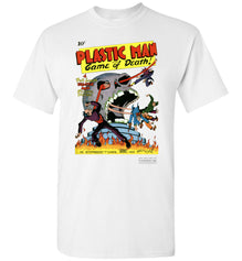 Plastic Man No.1 T-Shirt (Unisex, Light Colors)