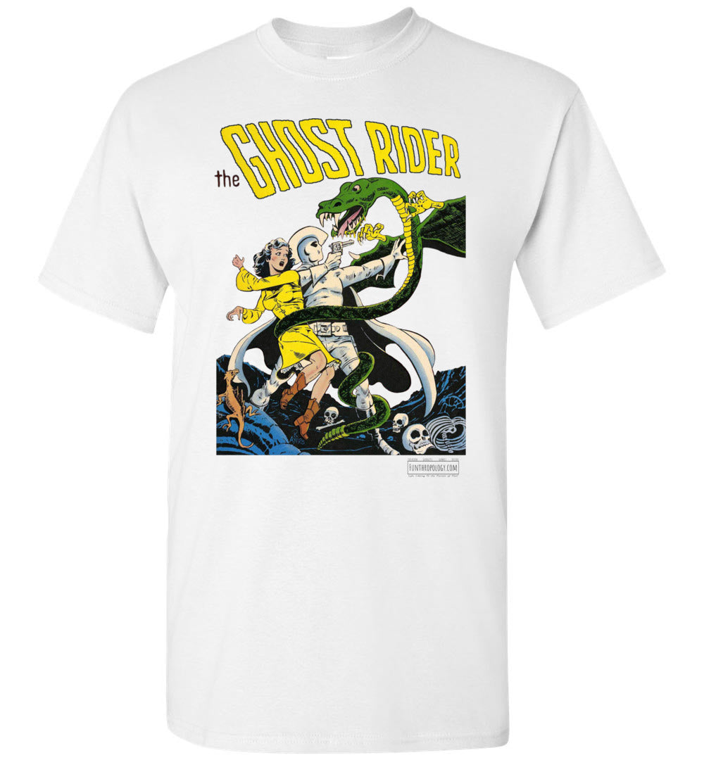 The Ghost Rider No.7 T-Shirt (Unisex Plus, Light Colors)