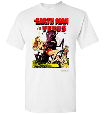 An Earth Man On Venus No.1 T-Shirt (Unisex Plus, Light Colors)