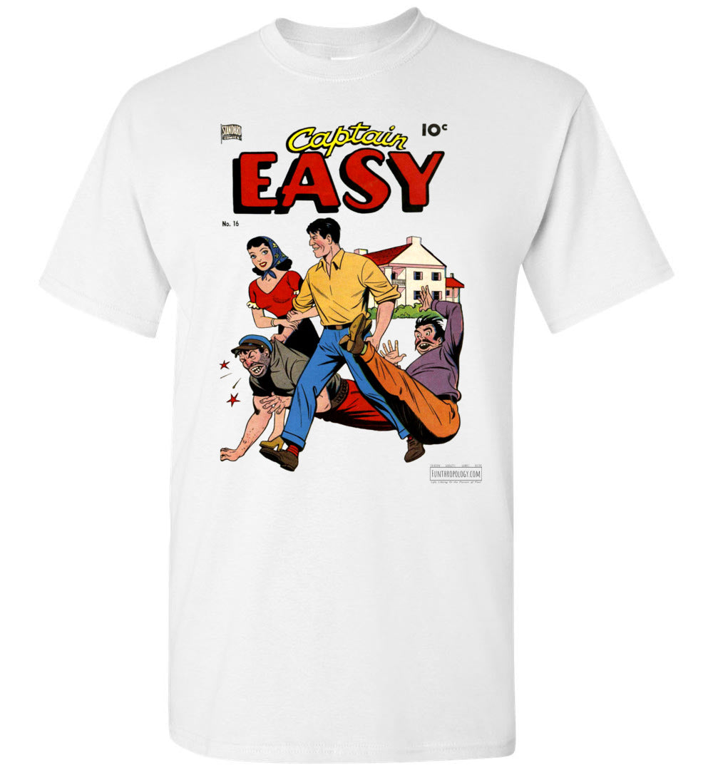 Captain Easy No.16 T-Shirt (Unisex, Light Colors)