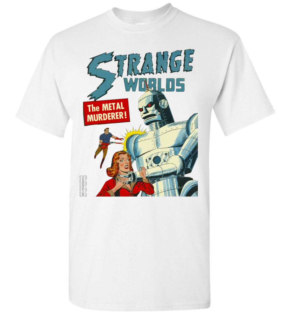 Strange Worlds No.8 T-Shirt (Unisex, Light Colors)
