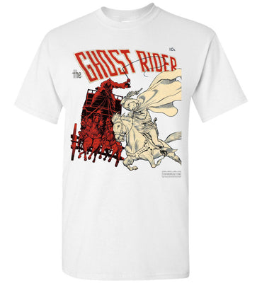 The Ghost Rider No.2 T-Shirt (Unisex Plus, Light Colors)