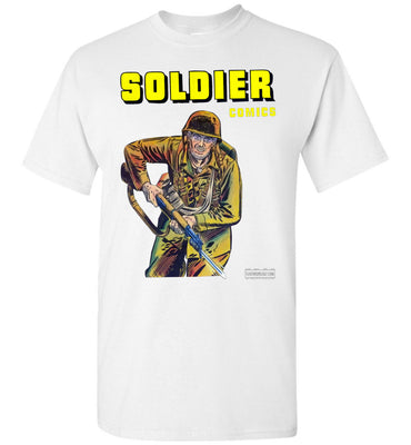 Soldier Comics No.5 T-Shirt (Youth, Light Colors)
