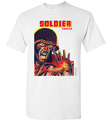 Soldier Comics No.8 T-Shirt (Youth, Light Colors)