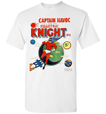 The Phantom Knight No.4 T-Shirt (Unisex, Light Colors)