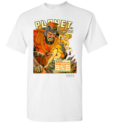 Planet Comics No.16 T-Shirt (Unisex Plus, Light Colors)