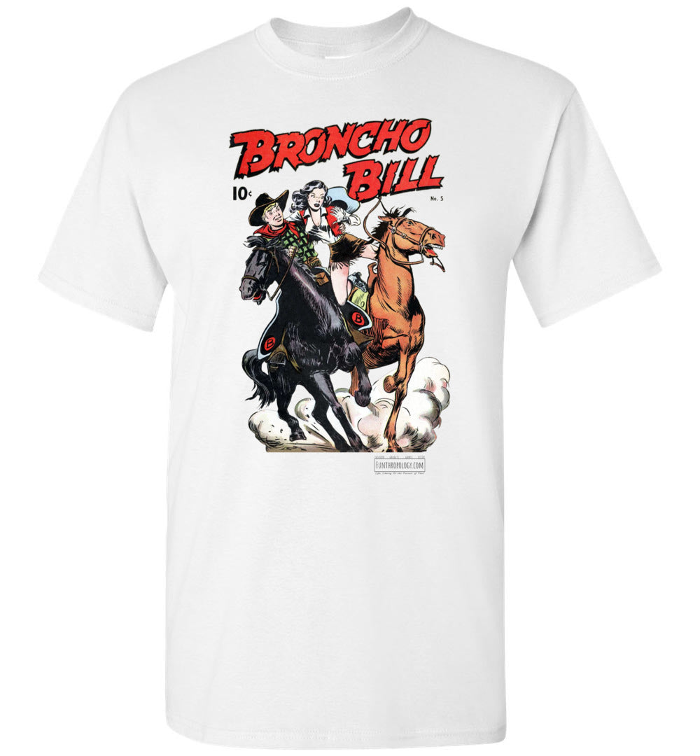 Broncho Bill No.5 T-Shirt (Unisex, Light Colors)