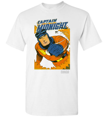 Captain Midnight No.46 T-Shirt (Unisex, Light Colors)