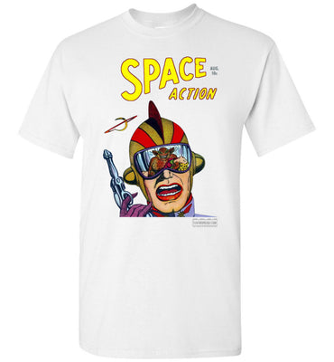Space Action No.2 T-Shirt (Unisex Plus, Light Colors)