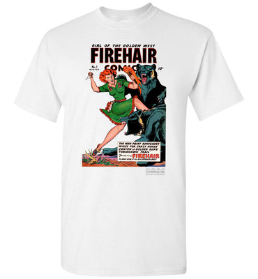 Firehair Comics No.1 T-Shirt (Unisex, Light Colors)