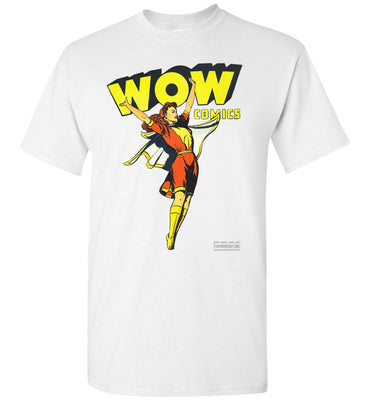 WOW Comics No.38 T-Shirt (Youth, Light Colors)