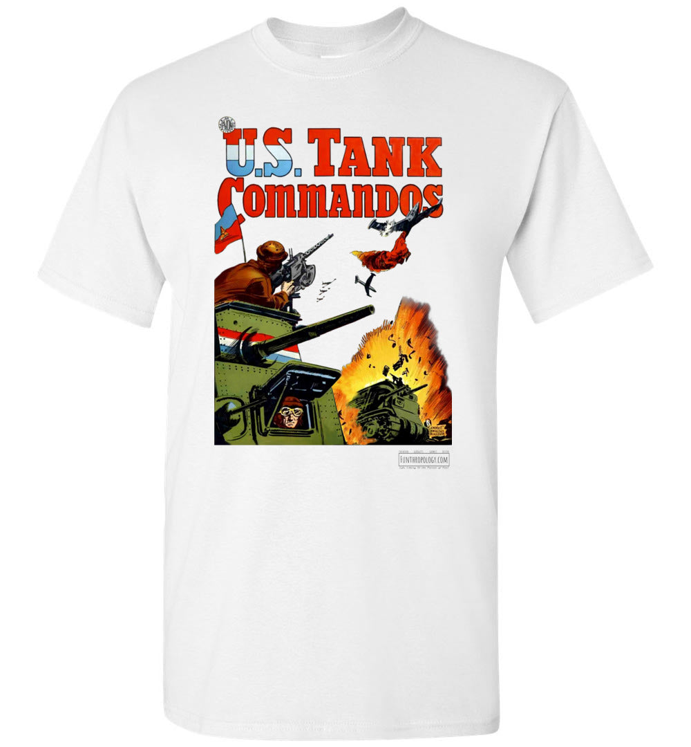 US Tank Commandos No.1 T-Shirt (Unisex, Light Colors)