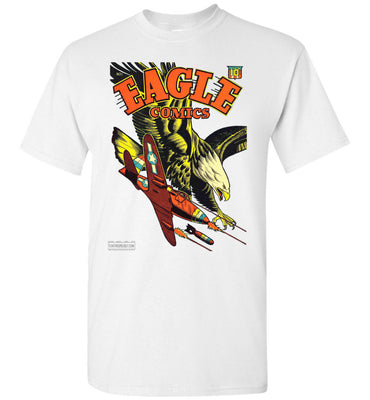 Eagle Comics No.1 T-Shirt (Unisex Plus, Light Colors)