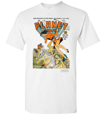 Planet Comics No.15 T-Shirt (Unisex Plus, Light Colors)