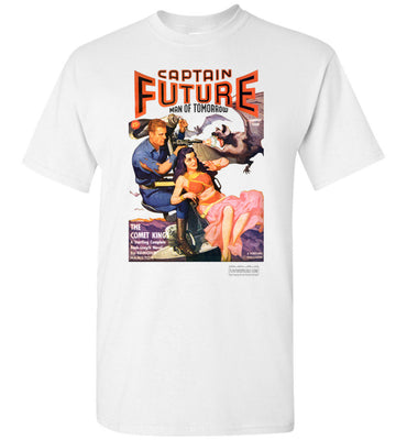 Captain Future No.11 T-Shirt (Unisex Plus, Light Colors)