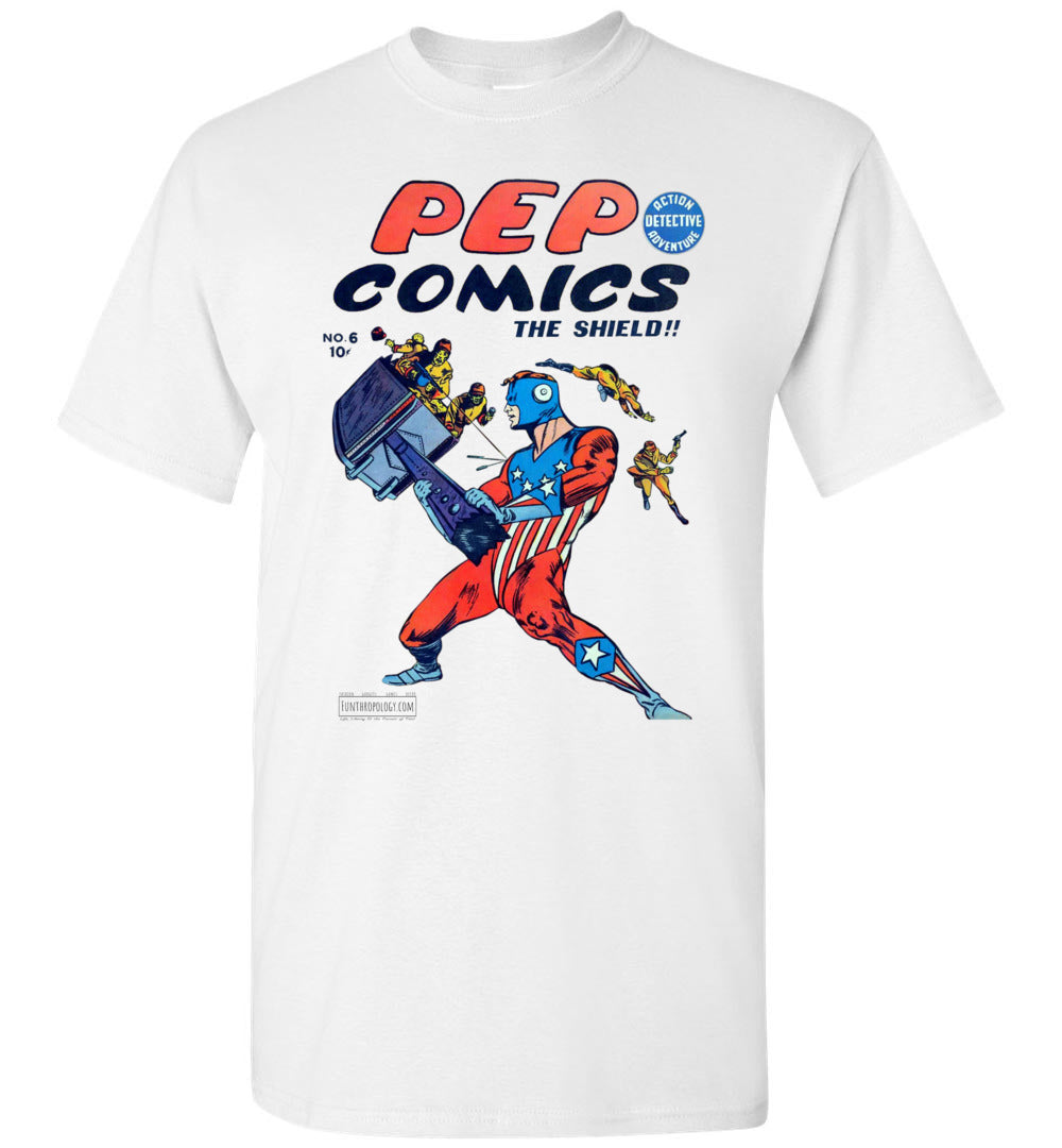 Pep Comics No.6 T-Shirt (Unisex, Light Colors)