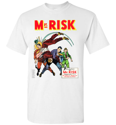 Mr. Risk No.7 T-Shirt (Youth, Light Colors)