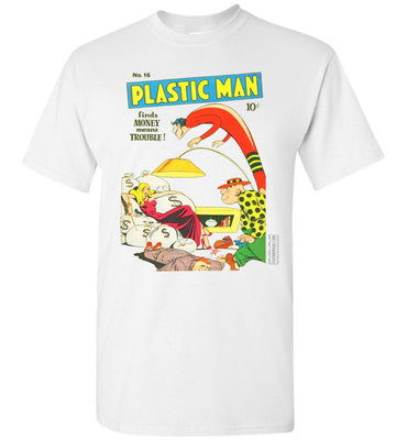 Plastic Man No.16 T-Shirt (Unisex, Light Colors)
