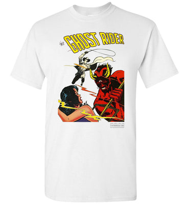 The Ghost Rider No.12 T-Shirt (Unisex, Light Colors)