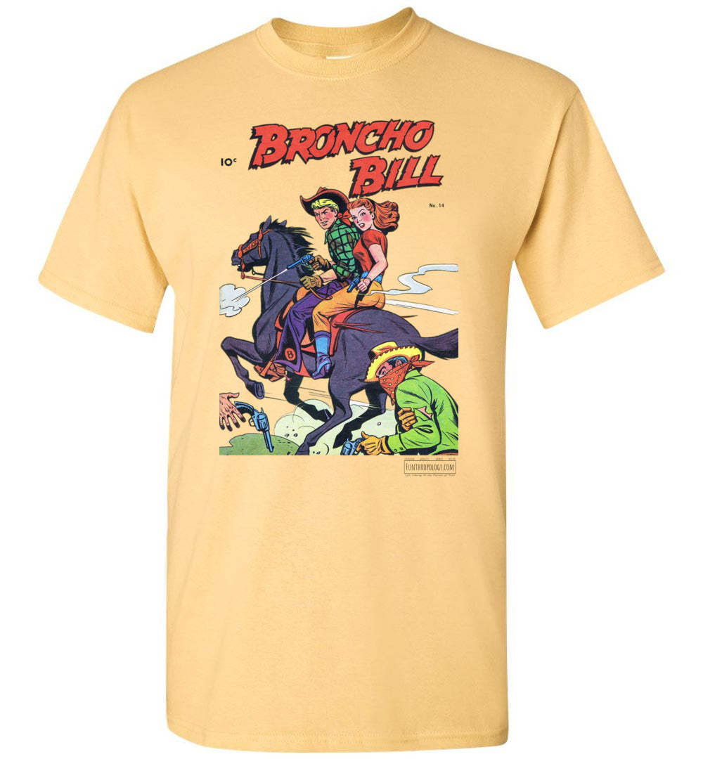 Broncho Bill No.14 T-Shirt (Unisex, Light Colors)