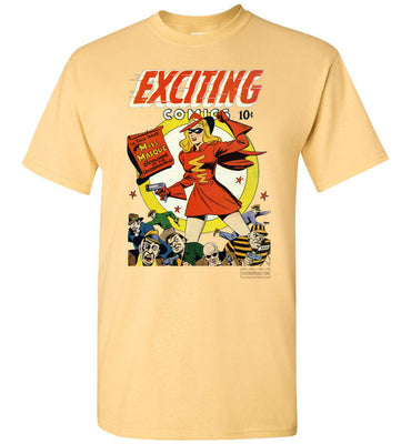 Exciting Comics No.53 T-Shirt (Unisex, Light Colors)