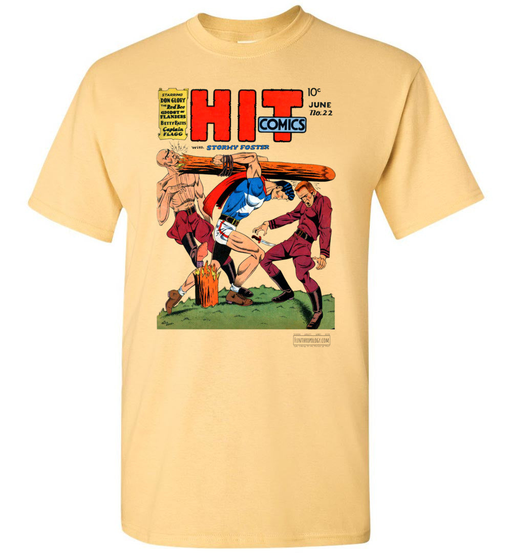 Hit Comics No.22 T-Shirt (Unisex, Light Colors)