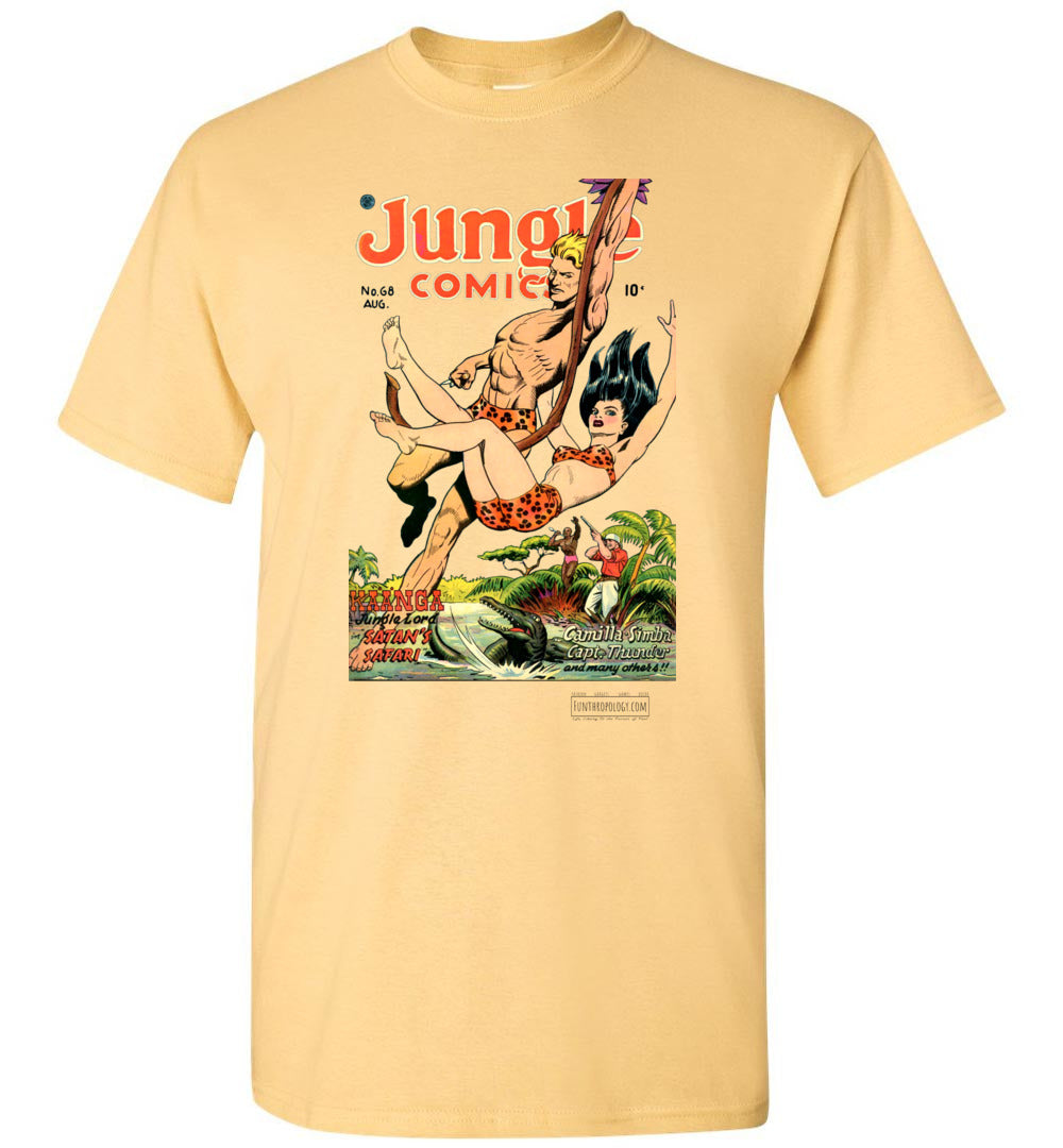 Jungle Comics No.68 T-Shirt (Unisex, Light Colors)