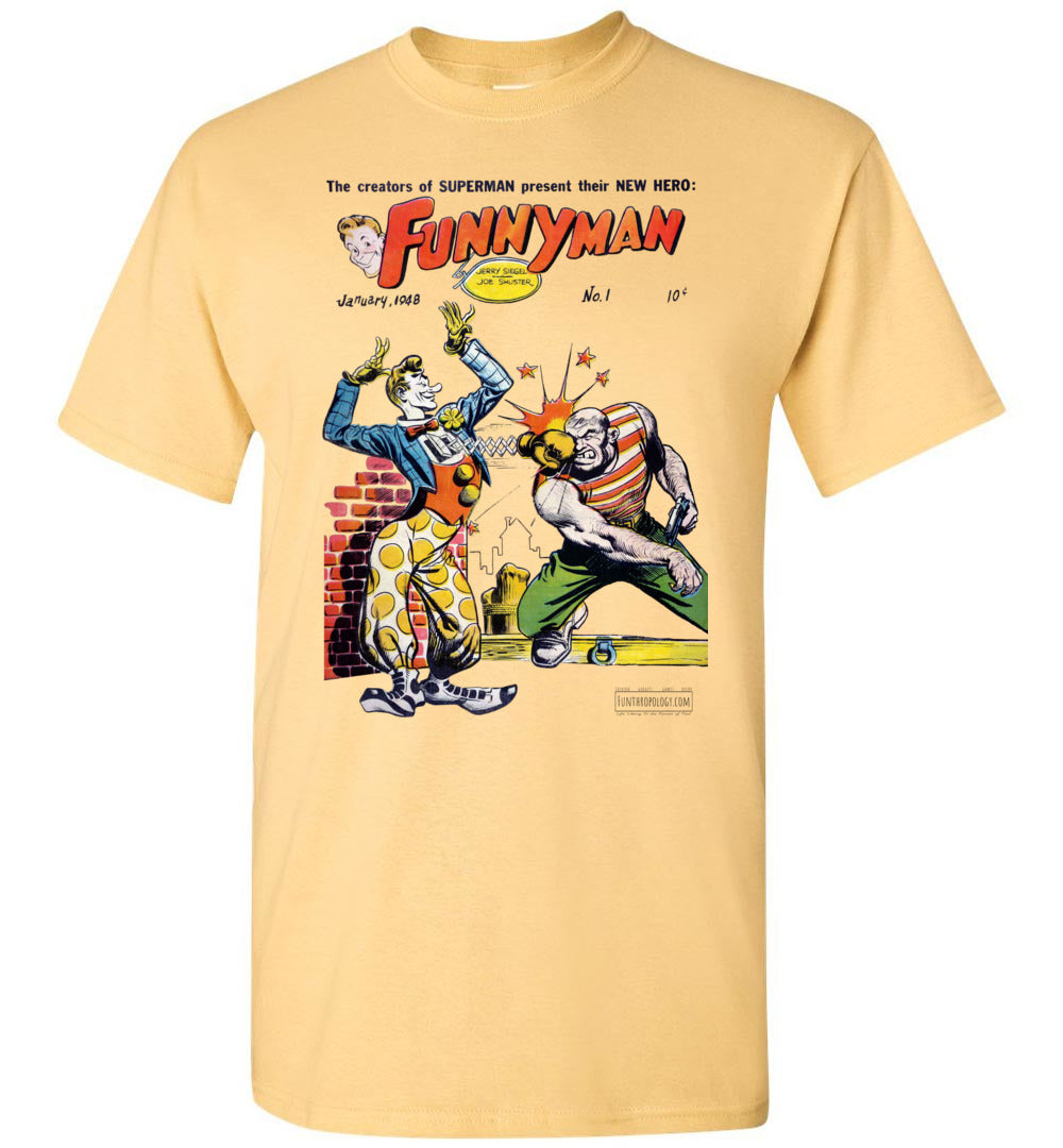 Funnyman No.1 T-Shirt (Unisex, Light Colors)