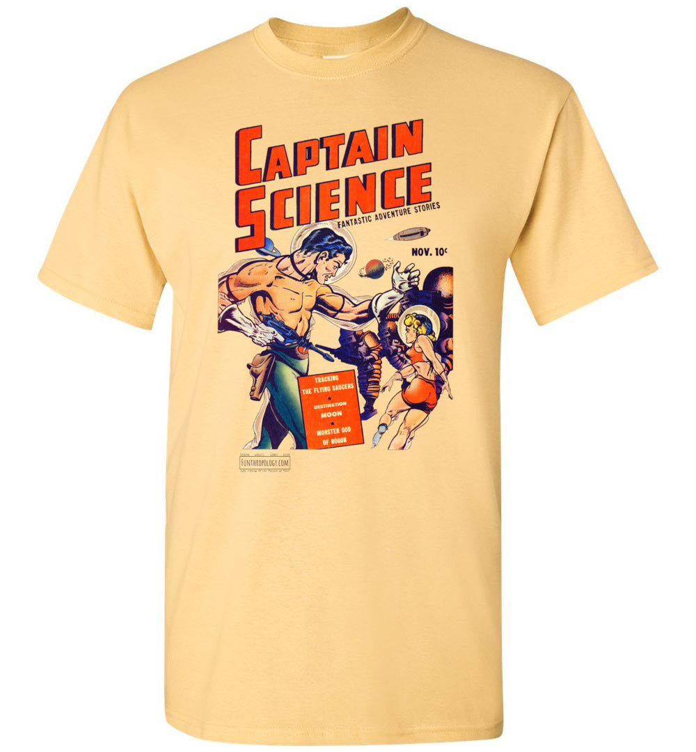 Captain Science No.1 T-Shirt (Unisex, Light Colors)