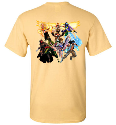 Capes & Chaos Vol.1 Heroes T-Shirt (Unisex)
