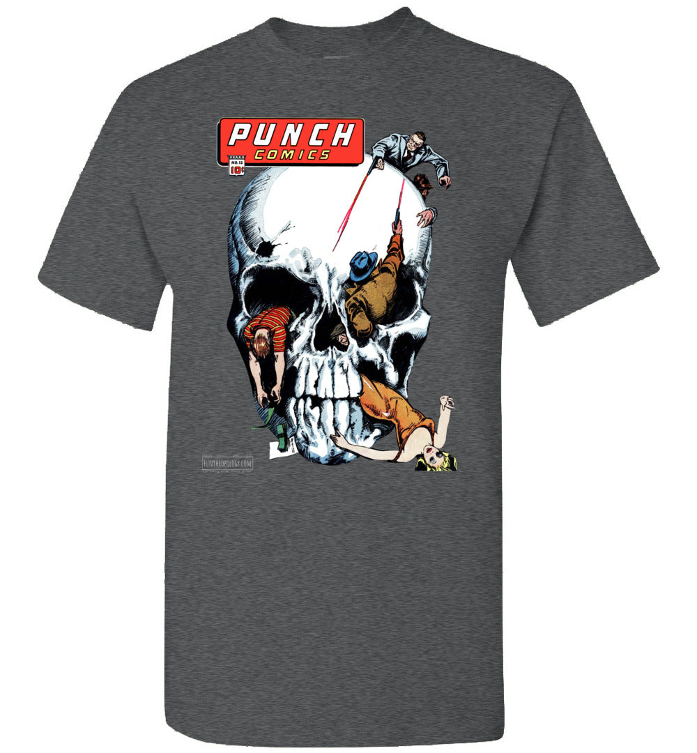Punch Comics No.12 T-Shirt (Unisex, Dark Colors)
